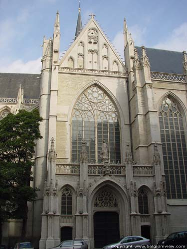 Saint-Michaels' cathedral (Saint-Michael and  Sainte-Gudule) BRUSSELS-CITY / BRUSSELS picture
