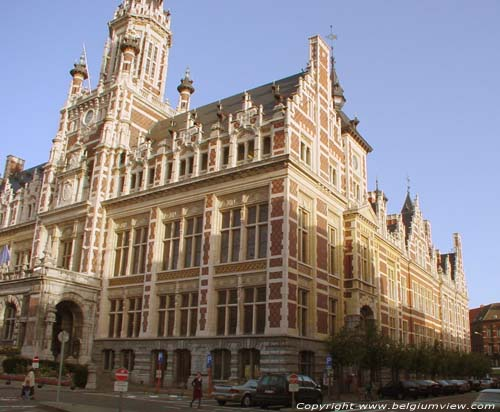 Town hall of Schaarbeek SCHAARBEEK picture