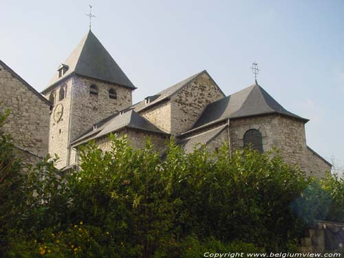 Saint-Etiennes' church (in Seilles) ANDENNE picture