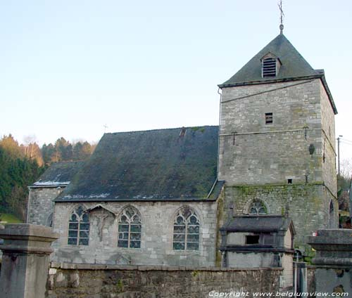 Saint-Quentin's church (in Lives-sur-Meuse) ERPENT / NAMUR picture
