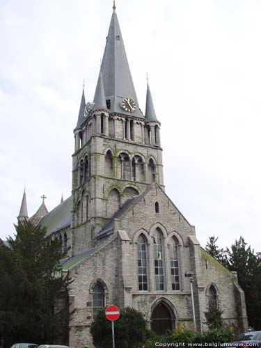 Saint-Jacob's church TOURNAI picture