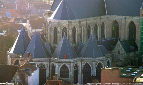 Saint-Salvators' cathedral BRUGES picture