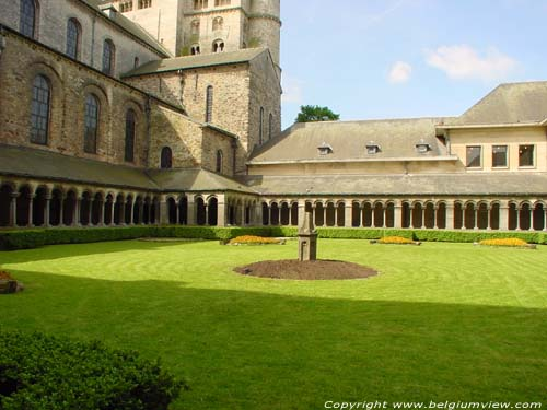 Cloister of St.Getrudechurch NIVELLES picture e
