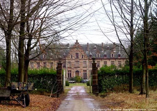 Hovorst castle (in Vierseldijk) ZANDHOVEN picture