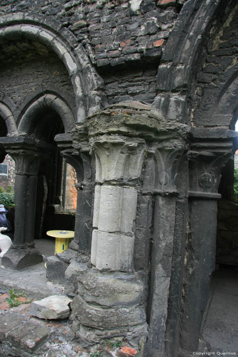 Ruins of the Saint Bavon's abbeye GHENT picture