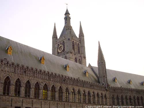 Clothmakers' Hall and belfry IEPER picture