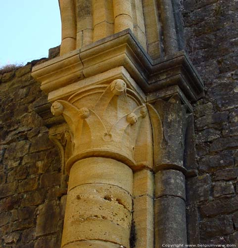 Ruins and museum of the Old Abbey of Orval VILLERS-DEVANT-ORVAL / FLORENVILLE picture