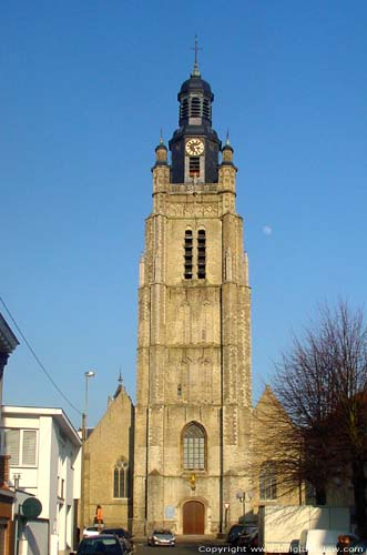Saint Michael church ROESELARE picture