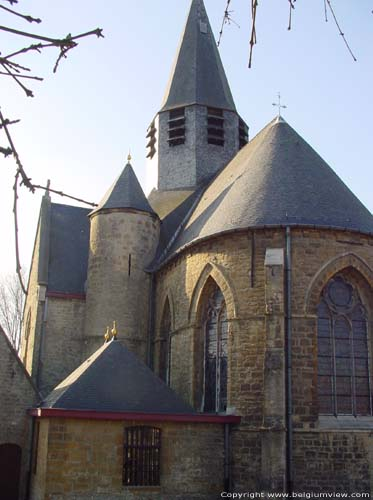 Saint-Christophes church (in Scheldewindeke) OOSTERZELE picture