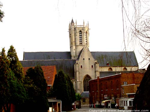 Our Ladies' church DENDERMONDE picture