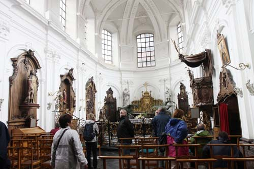 Church of the old Our Ladies' hospital GERAARDSBERGEN picture