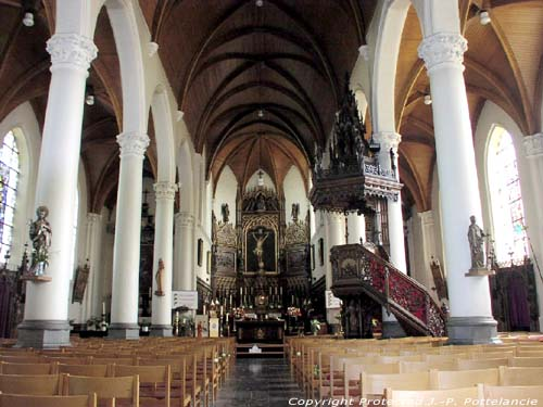 Holy Cross church (in Heusden) DESTELBERGEN picture