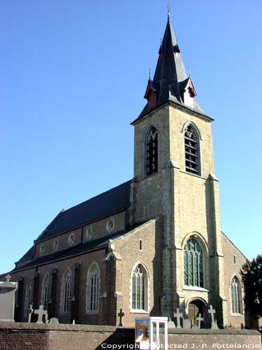 Saint-Barth's church (in Hillegem) HERZELE picture