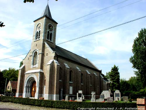 Saint-Bavon's church (in Mendonk) SINT-KRUIS-WINKEL / GENT picture