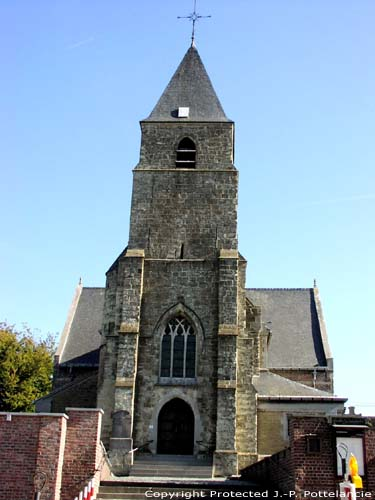 Saint Martin's church (in Oombergen) ZOTTEGEM picture