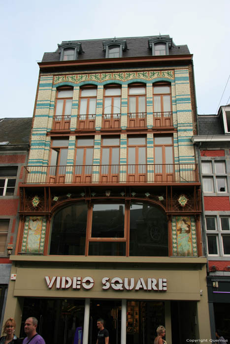Art nouveauhuis - Video Square NAMUR / NAMEN foto