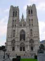 Saint-Michaels' cathedral (Saint-Michael and  Sainte-Gudule) BRUSSELS-CITY / BRUSSELS picture: From Place Sainte-Gudule
