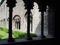 Cloister of St.Getrudechurch NIVELLES picture: e