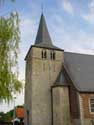 Our Lady going to Heaven church BOUTERSEM picture: 12th century tower